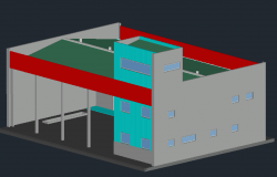 3D view of headquaters