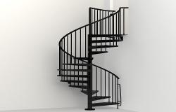 3D spiral staircaise