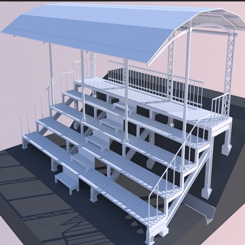 3 d stands plan dwg file
