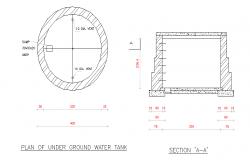 Water Tank Detail