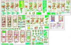 Modern Hotel Design plan