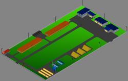 3d Area Design CAD File
