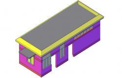 3d Building Design AutoCAD Drawing Download