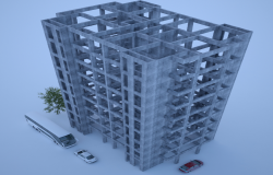 3d Corporate Building Design