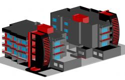 3d Corporate Building design