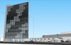 3d Corporate Office Building Project