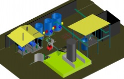 3d Factory  plant development