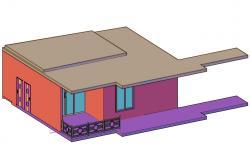 3d House Design CAD File