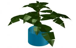 3d Plants Free CAD Blocks Free Download