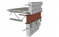 3d Steel deck detail cad files