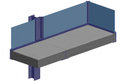 3d design of floor slab details of house dwg file