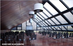 3d design of office conference hall interior dwg file