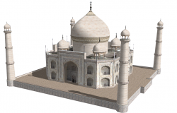 3d design of tajmahal architecture project dwg file