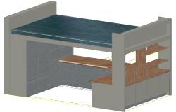 3d furniture design dwg file