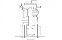 3d machinery design dwg file