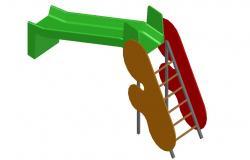 3d model Design of Garden CAD Block
