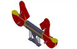 3d model design of Garden CAD blocks Free Download