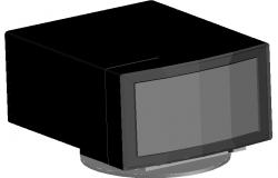 3d monitor dwg file