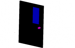 3d view of door design
