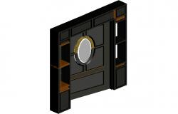 3d view of door design