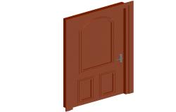 3d view of interior door