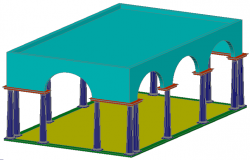 3d view of traditional ruf  design
