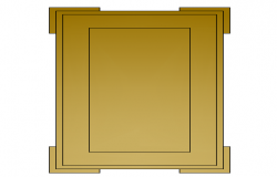 3d wooden door design block dwg file