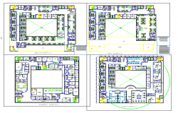 Hospital autocad drawings detail