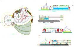 Restaurant plan project file