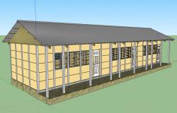3d Rural School
