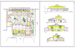 Small Restaurant Detail plan
