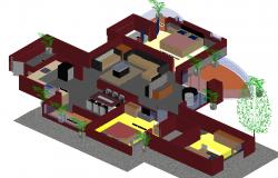 bungalow 3d