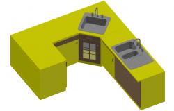 3D Kitchen PlatForm