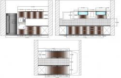 kitchen design in autocad