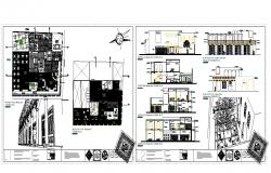 New plan Design For restaurant