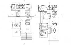5 BHK Mansion House Design Layout Plan