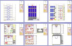 Corporate building cad files