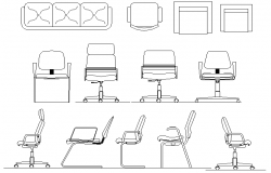 2D Chair Block design