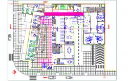 Hotel sanitory plan design