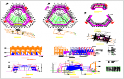 Convention center autocad files