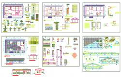 Hospital design DWG file