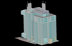 3d Building Tower