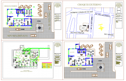 Coffee Shop detail plan