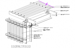 Isometric Steel Structure Design