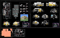 Modern villas design