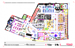Shopping Center Lay-out