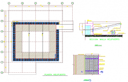 Heliport Design DWG  file