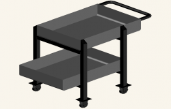 3d Rolling Table