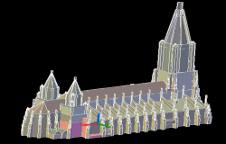 3d Cthedral