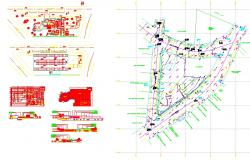 Large Restaurant Plan DWG